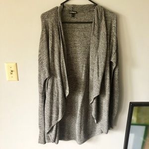 Express Fly Open Sweater